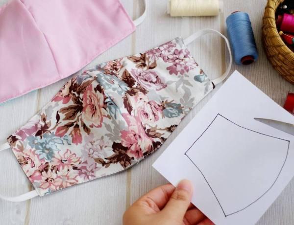 Les tutos pour fabriquer de jolis masques en tissu