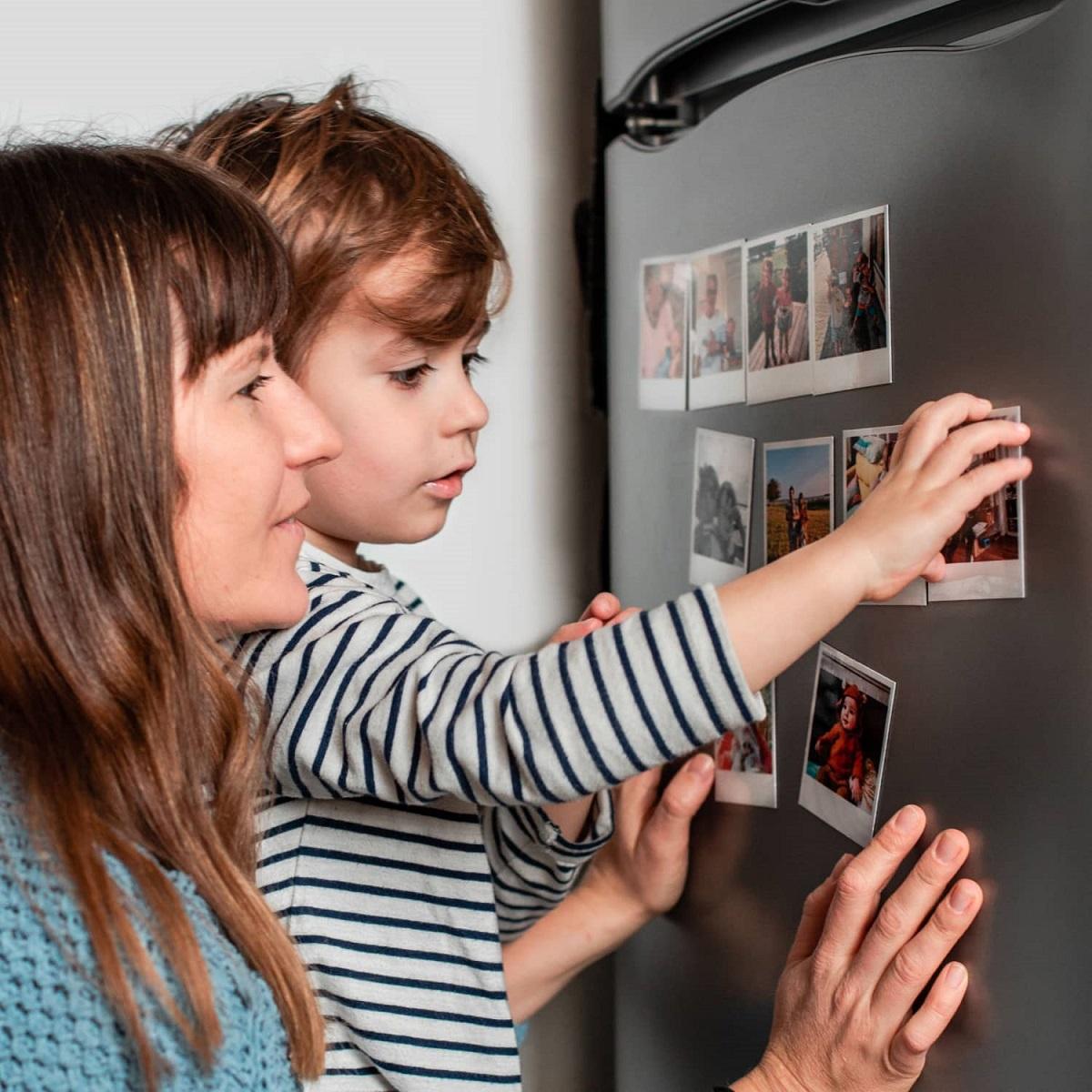 Idée cadeau fête des mères : magnet photos Cheerz