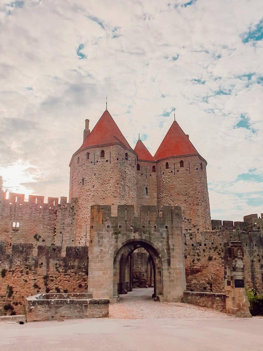 Voyage en famille, la cité de Carcassonne