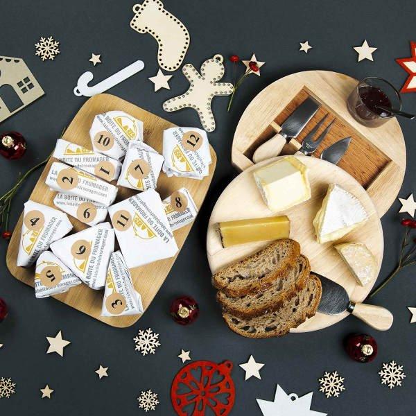 Calendrier de l'Avent de fromages