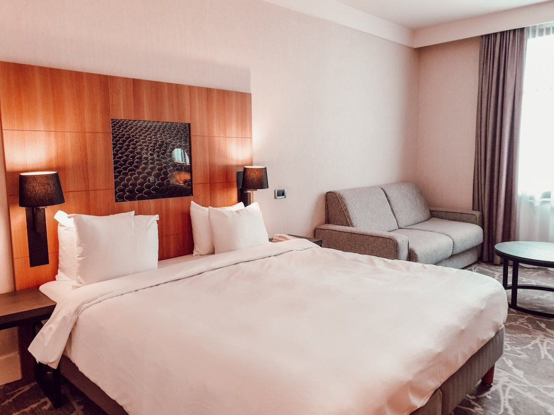 Chambre familiale du Radisson Blu Disney (hotel room tour)
