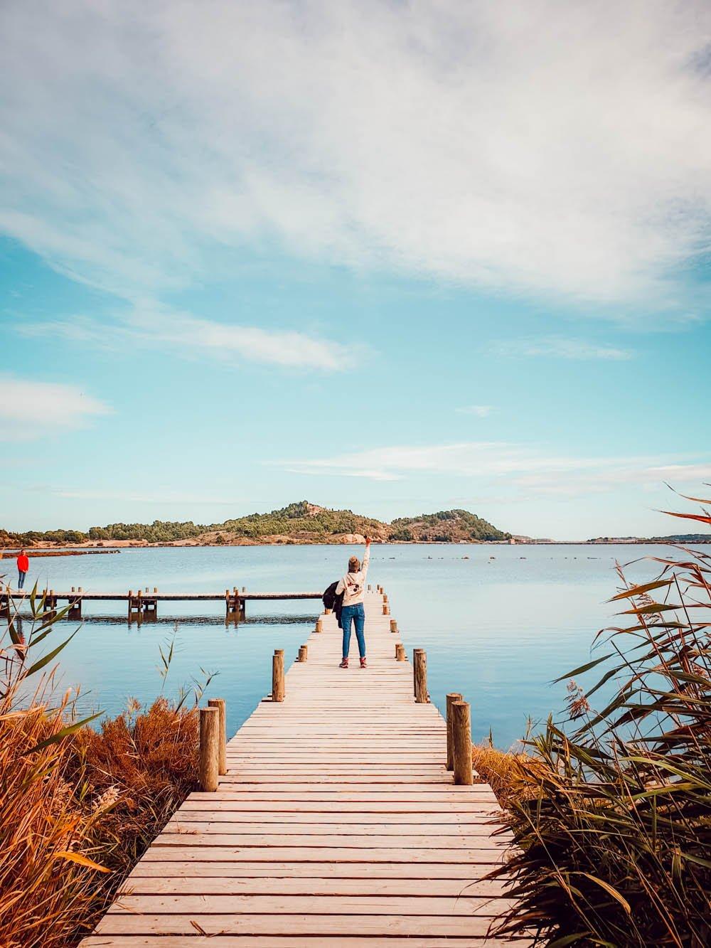Promenade à Peyriac de Mer : la balade des pontons