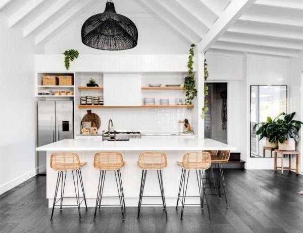 Cuisine contemporaine : comment décorer une cuisine blanche ?