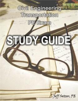 Transportation PE Exam Study Guide