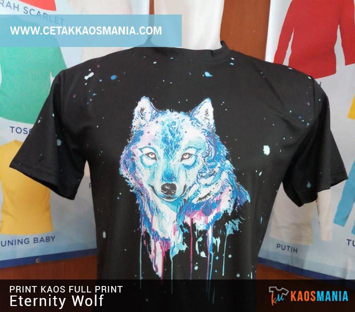 Kaos Fullprint Eternity Wolf
