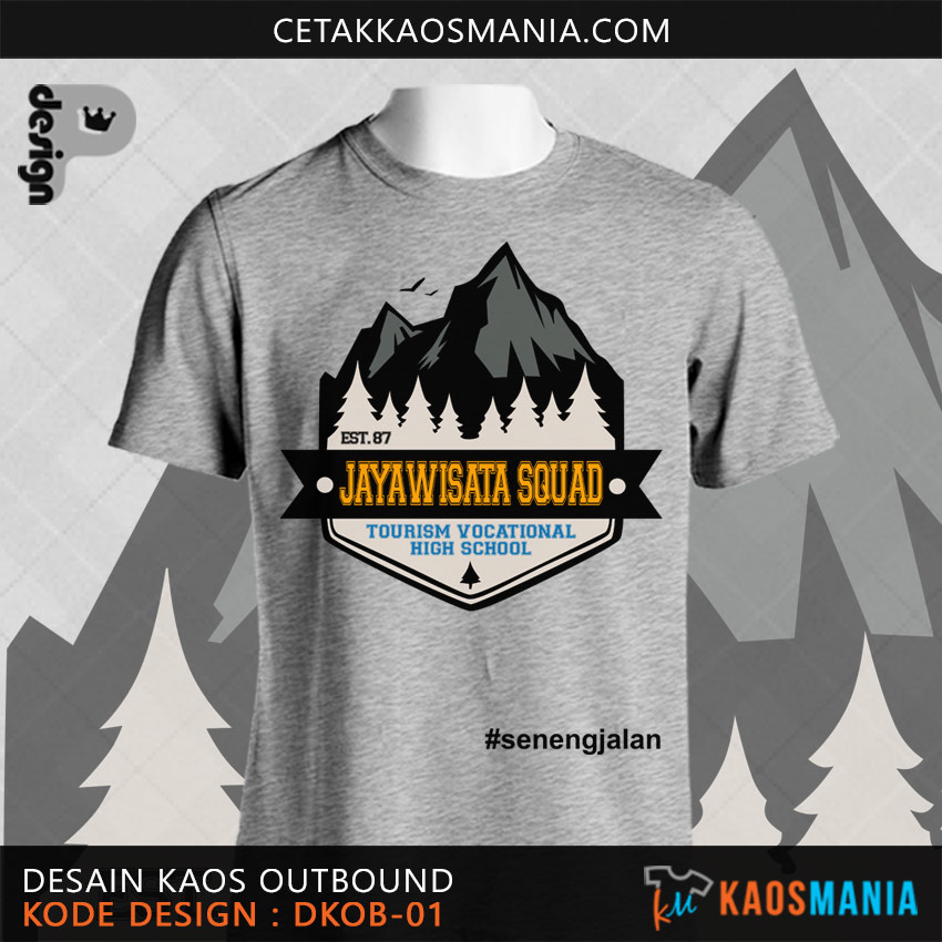 Kaos Outbound Ke Gunung