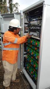 Telecom Equipment Installation
