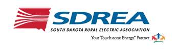 South Dakota Rural Electric Association logo