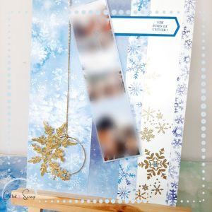pages de scrap joies de l'hiver