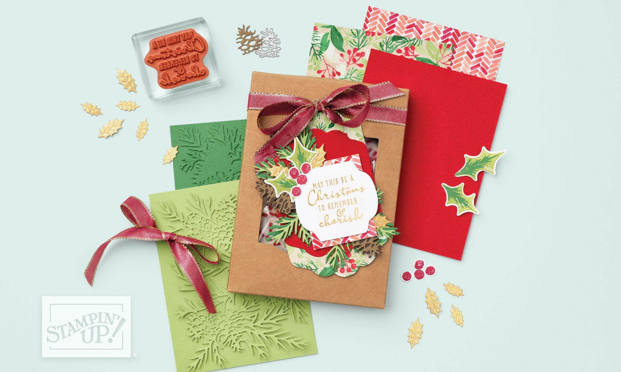 mini-catalogue juillet décembre Stampin'Up!