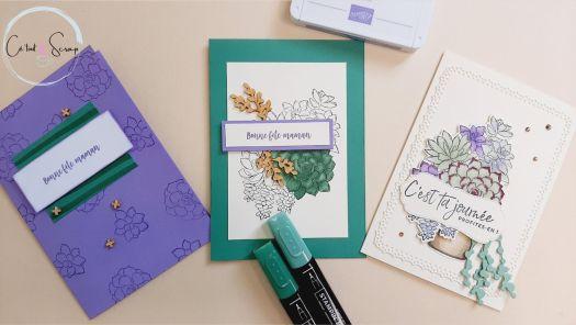 Trois cartes de fête des mères...