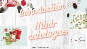 Mini-catalogue juillet décembre - présentation