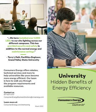 Higher Education brochure