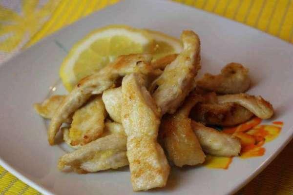 Straccetti di pollo Siciliano