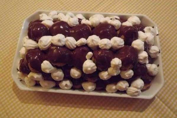 bigne al cioccolato