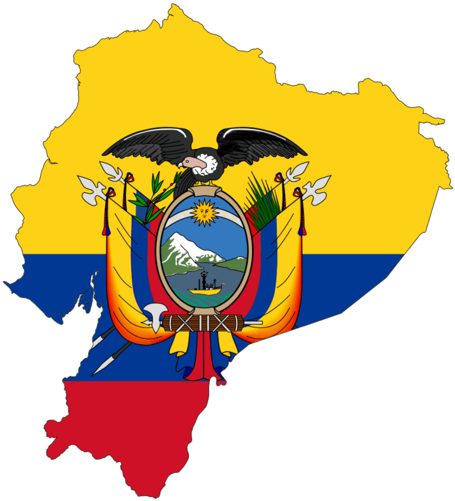 ecuador Ecuador Flag Map