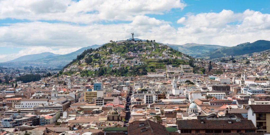 ecuador Old town Quito slider