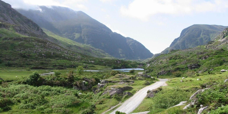 ireland Killarney Mountains and Valley slider