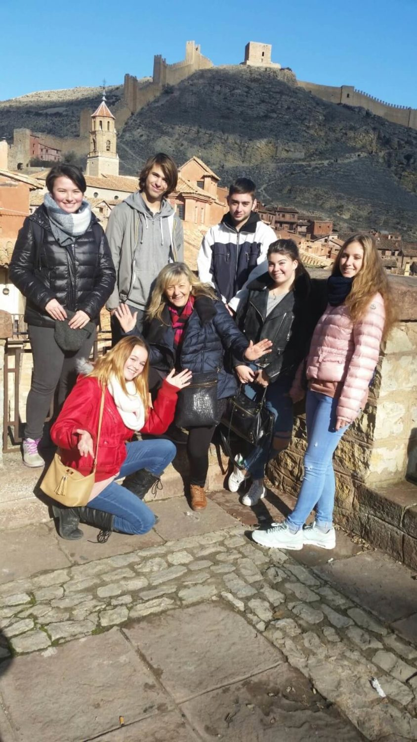 spain ES LC Trip Valencia Students CityWall GR