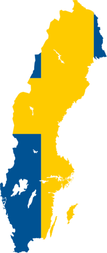 sweden Sweden Flag Map