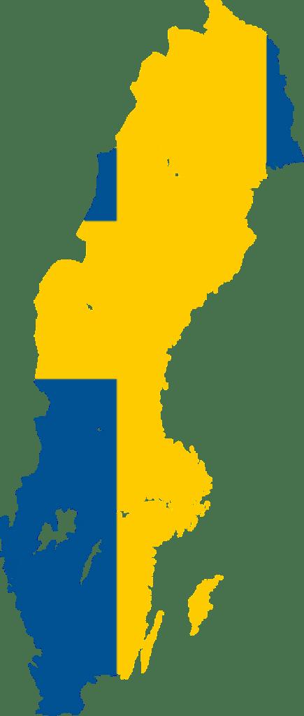 sweden Sweden Flag Map