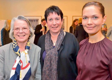Karin Martin, Julia Rosenkranz und Silke Krüger