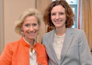 Kristina Tröger und Dr. Katarzyna Mol-Wolf
