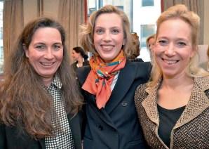 Nicole Unger, Frauke V.Reitzenstein und Alice Ascherfeld