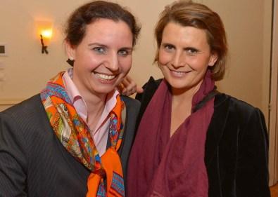 Marina Tcharnetsky und Andrea von Goetz und Schwanenfliess