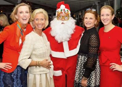 CeU-Präsidium und Santa