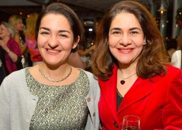 Lina Scharlau und Dr. Rima Aboutara
