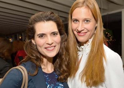 Janna-Lena Baierle und Nadine Geigle