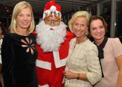 Kirsten Dahler, Santa, Kristina Tröger und Anita Freitag-Meyer