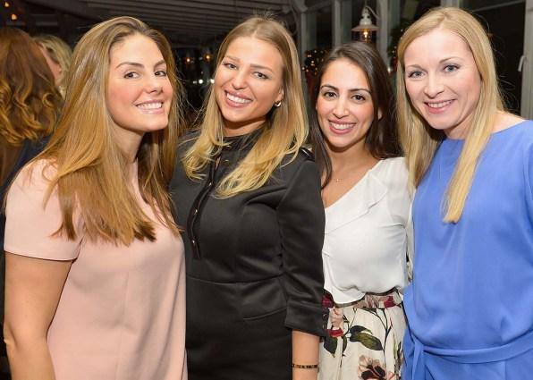 Priscila Niemax, Charlotte Lauzing, Dr. Neda Janary und Dr. Mareike Barvencik_