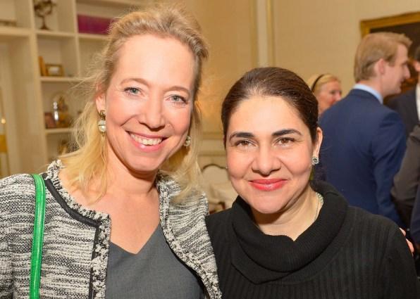 Alice Ascherfeld (Linodi) und Dr. Rima Abou-Tara