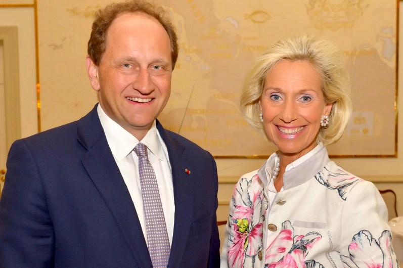 Alexander Graf Lambsdorff, Vizepräsident des Europäischen Parlaments, und Kristina Tröger