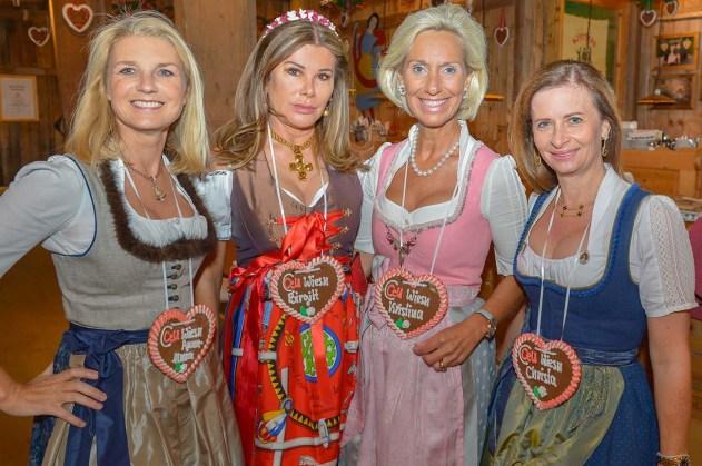 Dr. Anna-Maria Fäßler Hotel Sonnenalp, Birgitt Nilsson Intex, Kristina Tröger Präsidentin CeU, Christa Wünsche