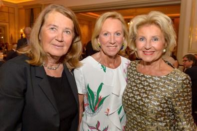 Undine Baum Freundeskreis Symphoniker, Dr. Brigitte Klapp, Annette von Rantzau Internat Schloss Rohlstorf