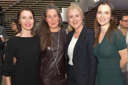 Dr. Simone Siebeke Spencer Stuart, Nicole C. Unger NCU Immobilien, Dr. Angela Titzrath CEO HHLA AG, Dr. Fabienne Diekmann Diekmann RAe - Anschnitt