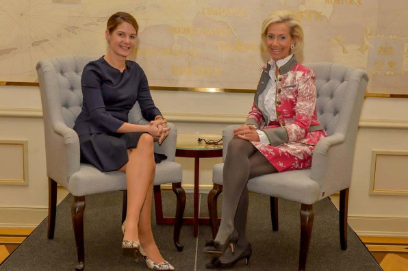 Tanit Koch Chefred. BILD und Kristina Tröger CeU-Präsidentin