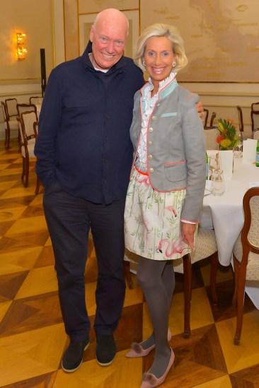 Jean-Claude Biver LVMH, Kristina Tröger CeU-Präsidentin Hochkant ganz