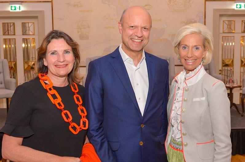 Christiane Goetz-Weimer Weimer Media Group, Dr. Frank Stieler CEO Krauss-Maffei, Kristina Tröger CeU-Präsidentin