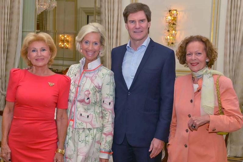 Annette von Rantzau Schloss Rohlstorf, Kristina Tröger CeU-Präsidentin, Carsten Maschmeyer, Marietta Andreae PR