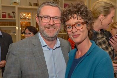 Christian Krug Chefredakteur STERN, Ina Krug Die Bank Brasserie