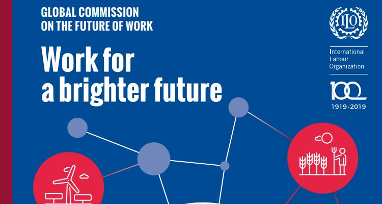 "Relatório ""Work for a brighter future"""