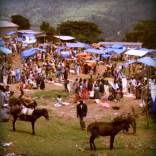 Großer Markt in Bonga