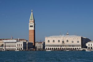 Venedig, Campanile und Dogenpalast