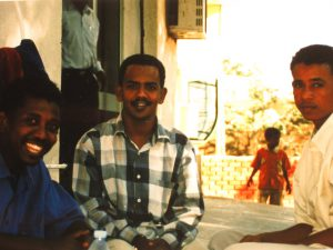 Freunde auf dem Campus, University Khartoum