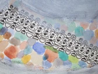 Mosaik 1/4 (Detail)