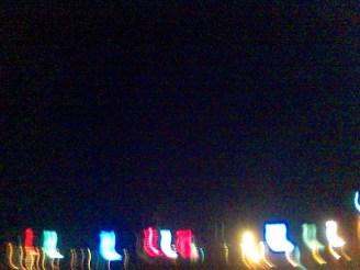 Lichter bei Chowpatty Beach, Mumbai